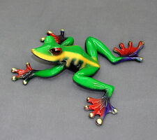 Bronze Frog Figurines Statue /Color Of Live Frogs / Art