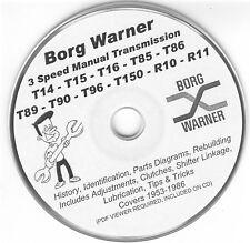 Borg Warner R10 T14 T15 T16 T85 T86 T89 T90 T96 T150