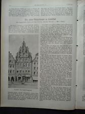 1913  Bürgerhäuser in Landshut Flossenbürg Treisbach