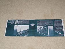 Nakamichi 1000 II, 700 II Cassette Ad, 1977, 2 pg, Info