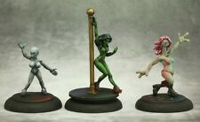Alien Exotic Dancers Chronoscope Reaper Miniatures Stripper Gray Illyrian Sci-fi