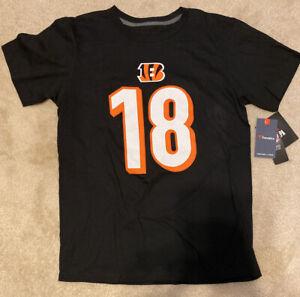 Men's Fanatics AJ Green Cincinnati Bengals Jersey T-shirt Size Medium