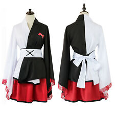 Danganronpa monokuma Cosplay Costume Kimono Female Dress Halloween Women Uniform