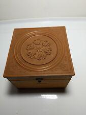 Antique Civil War Era COLLAR BOX GUTTA-PERCHA from Ward's