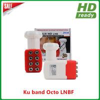SAT LNB Single Twin Quattro Quad Octo LNC Sat Digital UHD 4K 1 2 4 8 Teilnehmer