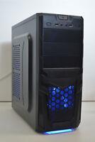GAMING PC i5-4690 3.5 GHz 16GB DDR3 120GB SSD New 1TB HDD 4GB GTX 1050Ti WIN 10