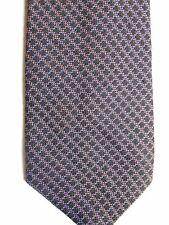 """Luciano Soprani Men's Silk Tie 59"""" X 3.75"""" Multi Color Iridescent Criscross"""