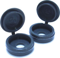 PACK OF 200 x GRAPHITE GREY SCREW COVER CAPS, VW CAMPER CONVERSION T5 T25 *