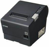 Epson TM-T88V M244A USB/Serial Thermal Receipt Printer w/PS-180 C31CA85084