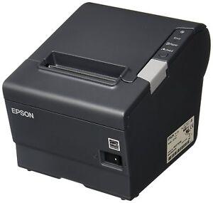 Epson TM-T88V M244A USB/Serial Receipt Printer w/PS-180 C31CA85084 - Renewed