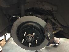 R32 R33 R34 GTS GTT GTR skyline 350mm rear rotors brake upgrade adapter kit