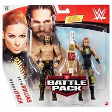 WWE Mattel Becky Lynch / Seth Rollins Battle Packs 66 Basic Figures