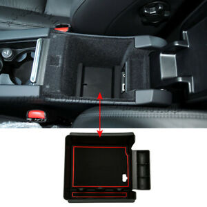 For Volvo XC60 2009-17 Armrest Storage Box Central Pallet Tray Organizer Holder