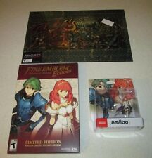 Fire Emblem Echoes SOV Limited Edition 3DS Sealed + Alm & Celica Amiibo + Print