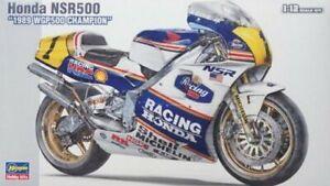 Hasegawa BK-4 1/12 Model Motorcycle Kit Honda NSR500 1989 WGP500 Champion
