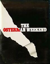 OSTERMAN WEEKEND - MOVIE PRESS KIT - (9) BLACK & WHITE PUBLICITY STILLS