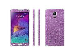 Samsung Galaxy Note 3 Skins Glitzerfolie Bling Full body Aufkleber Sticker Folie