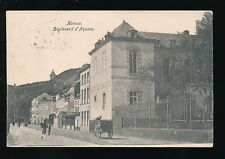 Belgium Wallonia NAMUR Boulevard d'Aquam Used 1910 PPC
