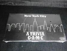1990 East Koast Games NEW YORK CITY A TRIVIA GAME Sealed Complete Trival Pursuit