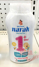 Narak Baby Powder 1 Day+ Pure Honey Pure Powder Extra Mild for New Born 150 g