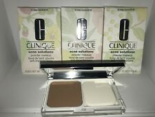 3x CLINIQUE ACNE  SOLUTIONS POWDER MAKEUP #20 DEEP NEUTRAL