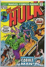 INCREDIBLE HULK #173 - Hulk vs Cobalt Man