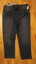 NWT BANDOLINO Womens Mandie Classic Fit Stretch Denim Blue Jeans Size 12 PS
