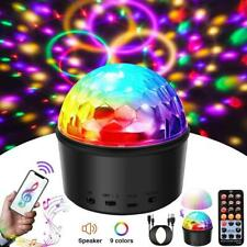 Disco Light Ball Crystal Magic Ball Lamp Speaker Party LED Stage Lamp