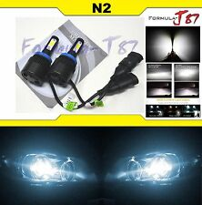 LED KIT N2 72W H11 6000K WHITE HEAD LIGHT FOG UPGRADE REPLACEMENT SMALL SIZE