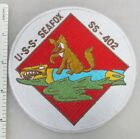 US NAVY USS SEAFOX SS-402 SUBMARINE PATCH (White) Made for Veterans After WW2