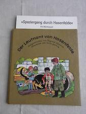 DDR Kinderbuch Der Leutnant von Hasenfelde mit Würfelspiel Spaziergang durch Has