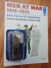 DEL PRADO MEN AT WAR - GERMAN PARATROOPER BOSNIA WW2 1944 SOLDIER #22