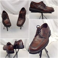 Lavorazione Artigiana Oxford Shoes Sz 8 Men EU 41 Brown Leather Italy YGI A18