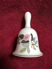 """Wedgewood China Bell- Hathaway Rose Pattern 4 1/2"""""""