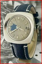 Eterna Matic 1000 Concept 80 Automatic Israel David Star Dial 39mm Steel Watch