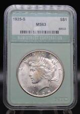 1925 S - Silver Peace Dollar - Key Date Unc