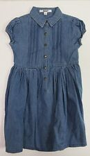 DKNY Little Girls Button-Front Denim Dress US Size 6 NWT