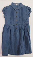 DKNY Little Girls Button-Front Denim Dress US Size 6 NWT