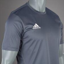 ADIDAS Maillot d'entrainement de Football Core Onyx / Blanc