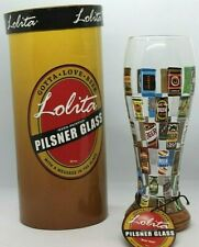 Lolita Gotta Love Beer Hand Painted 22 oz. Pilsner Glass New in Box