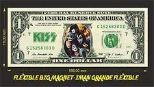 KISS IMAN BILLETE 1 DOLLAR BILL MAGNET