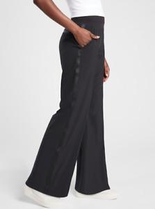 ATHLETA Nolita Wide Leg Pant 12 (L LARGE) Black, Lightweight Versatile Pants NWT