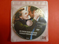 Je Crois Que Je L'aime (Could This Be Love) DVD Disc ONLY RARE HTF
