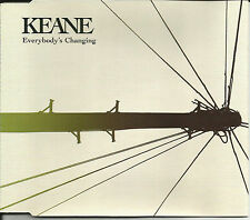 KEANE Everybody's Changing w/ 2 UNRELEASED & VIDEO CD single SEALED USA seller