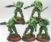 Warhammer 40K Space Marines Salamanders Primaris Reivers Squad kill team