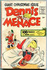 Dennis the Menace 100 page Giant Christmas Issue 1955 G/VG