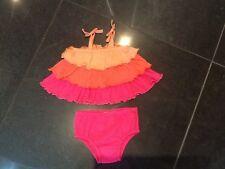 Juicy Couture Nuevo & Bebé Niñas Vestido de algodón Gen. y pantalones 6/12 mths & jugoso logotipo