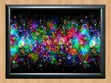 Psychedelic Trippy Funky Mushrooms Audio Video Visulization A4 Photo Print 13