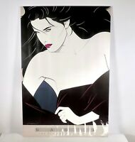 VTG 1989 Patrick Nagel Art Print Poster The Playboy Portfolio II Foam Mounted