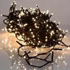 Weihnachten Lichterkette 80 bis 720 LED  warmweiß Innen und Außen Timer Dimmer